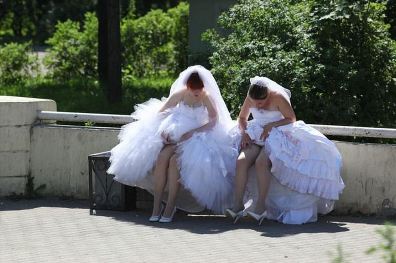 Прикольные фото на свадьбу, обои