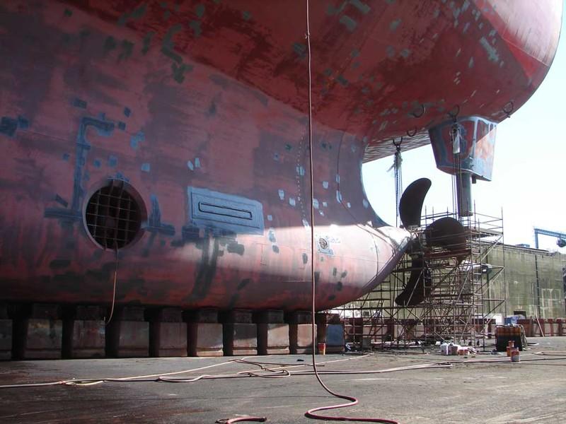 Нефтеналивной супертанкер Knock Nevis самый большой корабль в мире