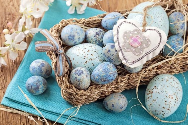 Пасха к нам приходит: 10 оригинальных идей покраски яиц идеи, полезное, советы