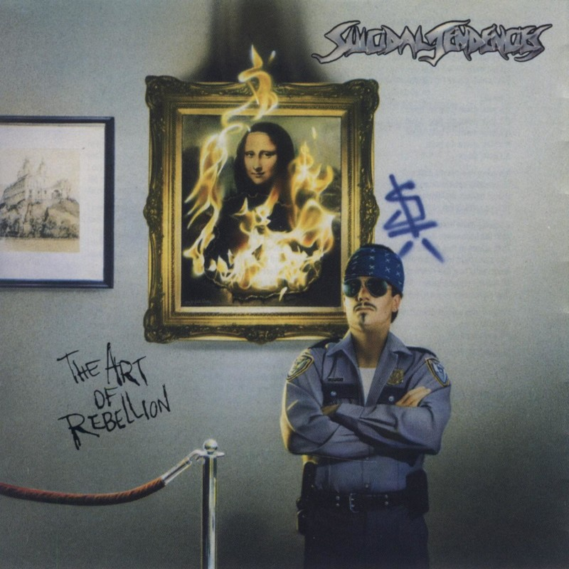 "Suicidal Tendencies ""The Art of Rebellion"" coverart, music, прикол"