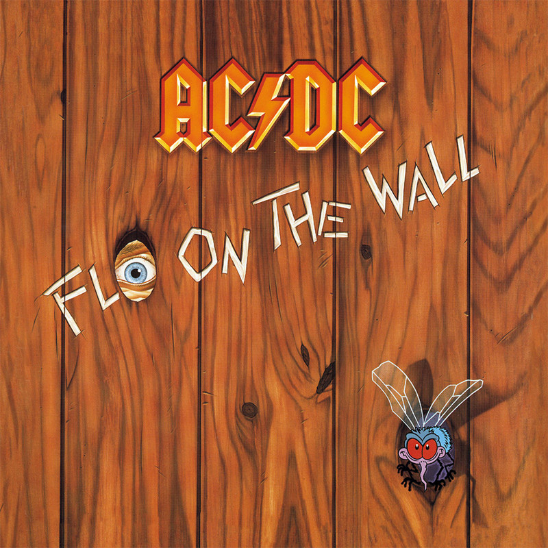 "AC/DC ""Fly on the Wall"" coverart, music, прикол"