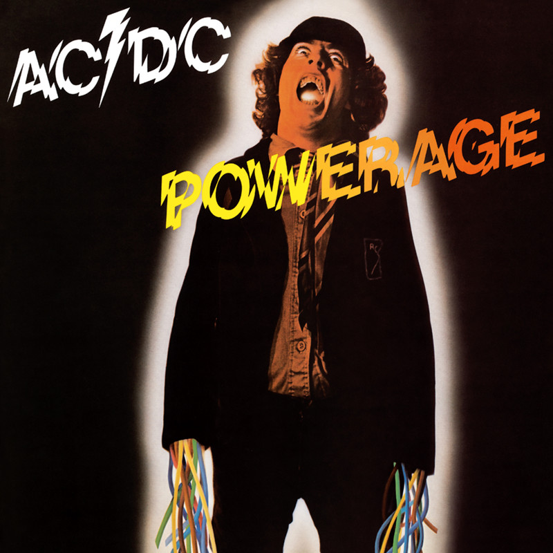 "AC/DC ""Powerage"" coverart, music, прикол"