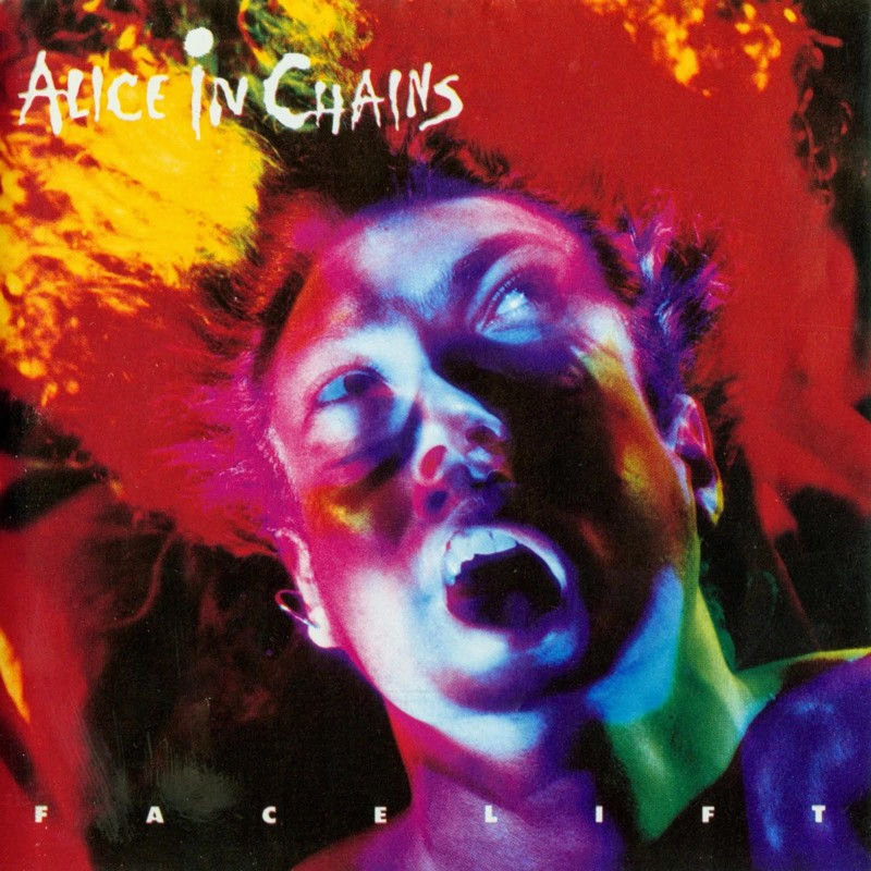 "Alice in Chains ""Facelift"" coverart, music, прикол"