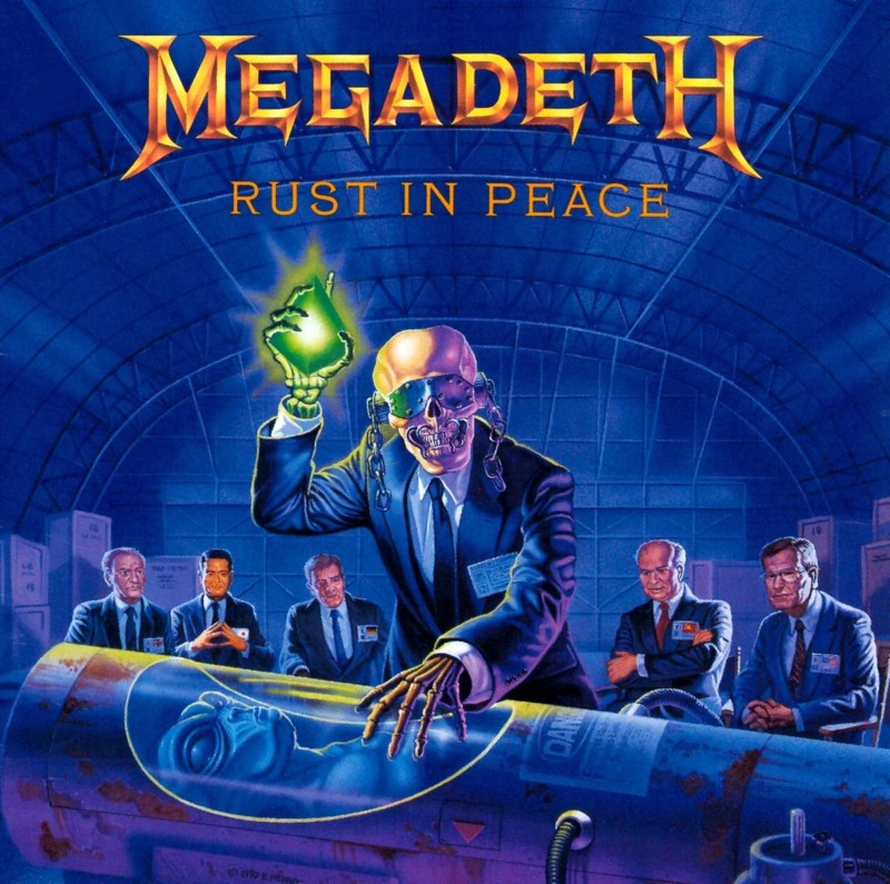 "Megadeth ""Rust in Peace"" coverart, music, прикол"