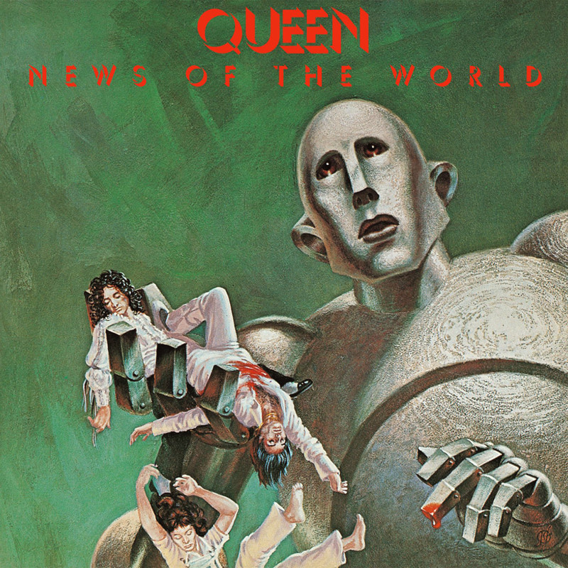 "Queen ""News of the World"" coverart, music, прикол"
