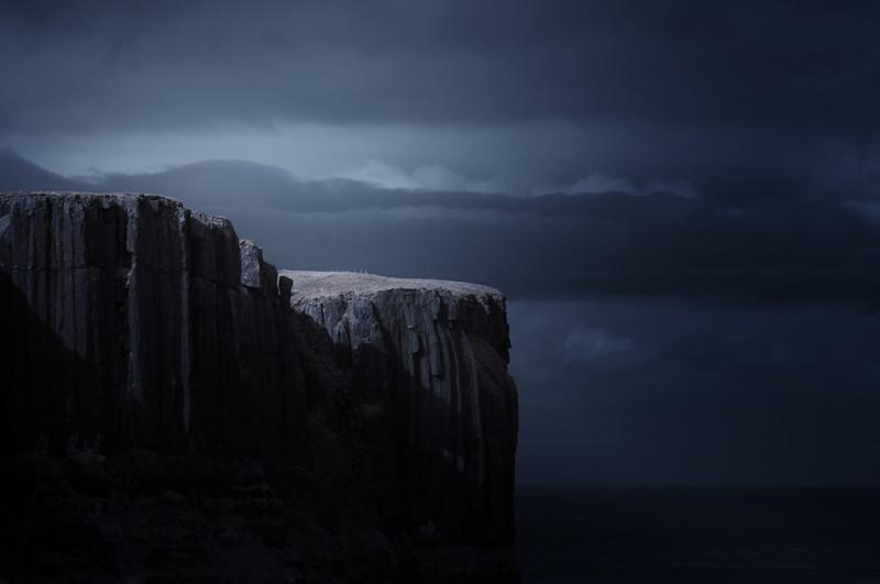 Килт Рок на острове Скай, Шотландия. горы, пейзаж, фотография