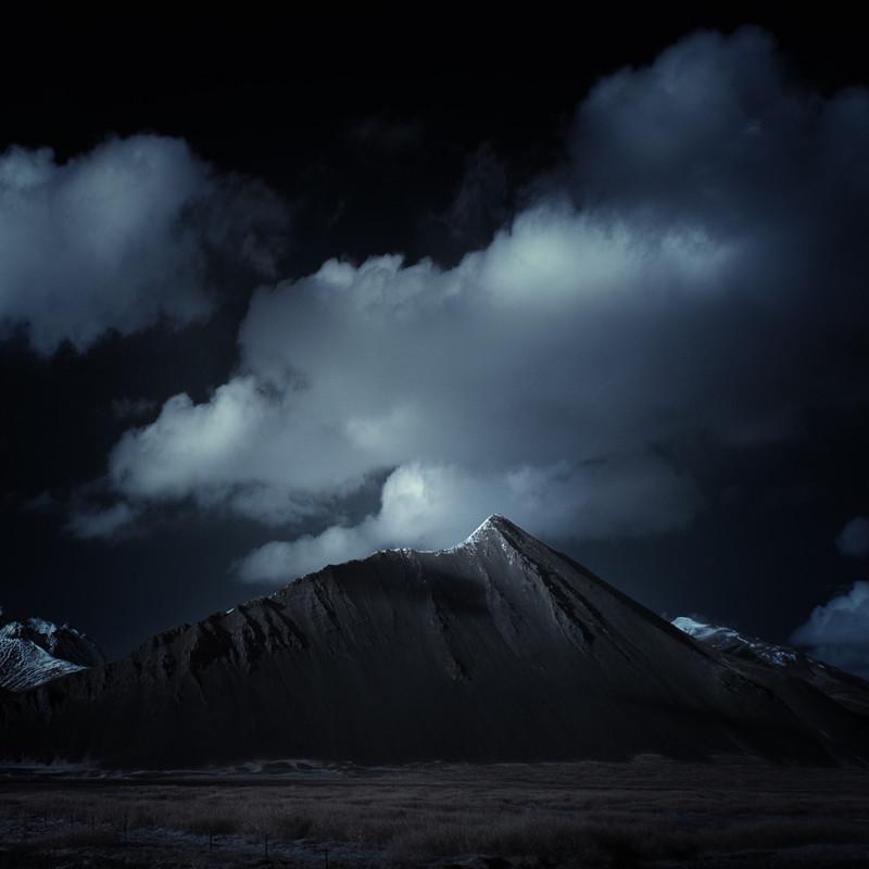 Боргарнес, Исландия. горы, пейзаж, фотография