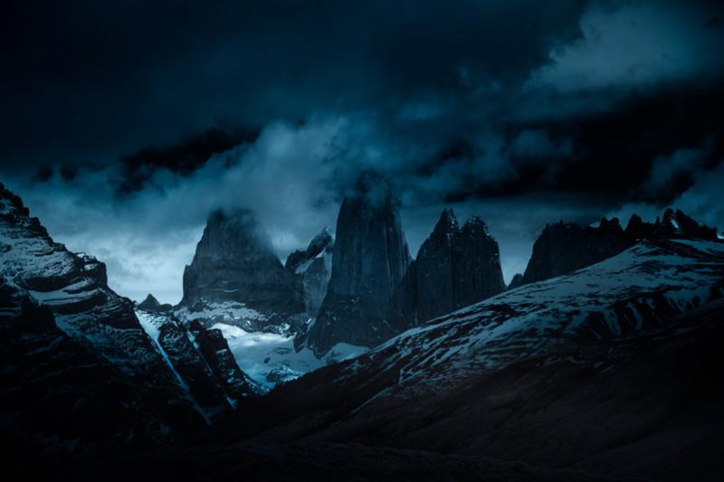 Торрес, Патагония, Чили. горы, пейзаж, фотография