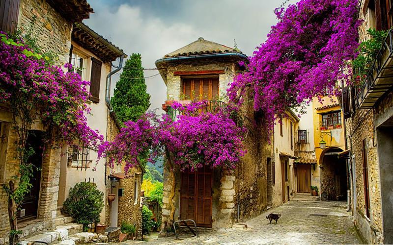 Прованс, Франция. древня, путешествие