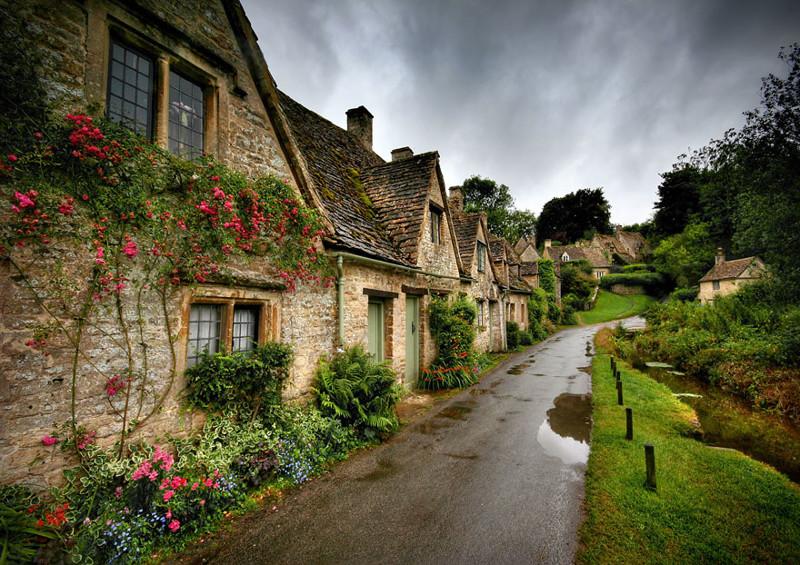 Бибери, Великобритания. древня, путешествие