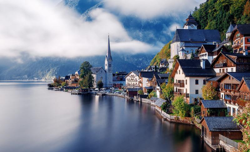 Халльштатт, Австрия. древня, путешествие