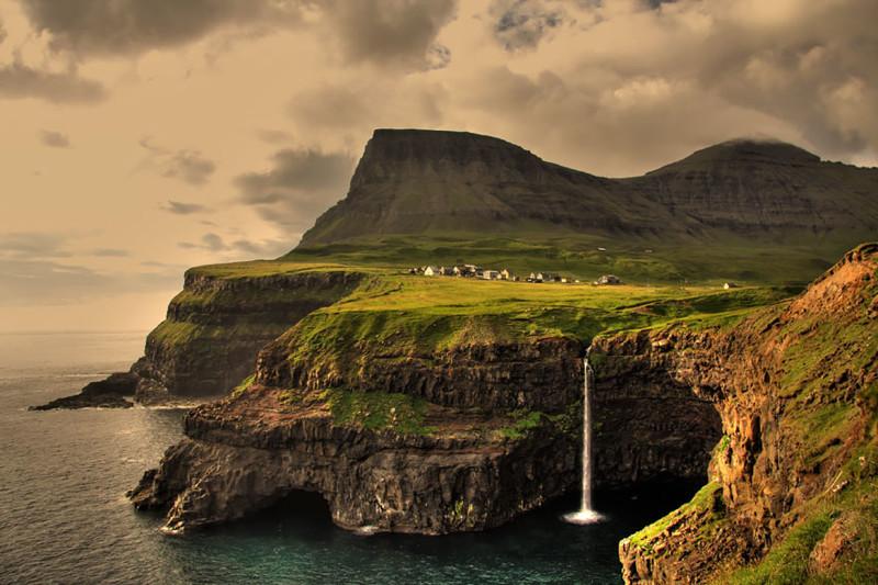 Гасадалур, Фарерские острова. древня, путешествие