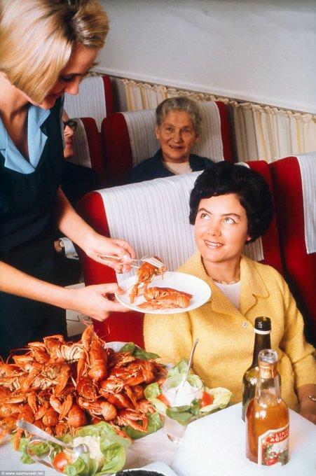 Чем кормили в самолетах полвека назад еда, самолет