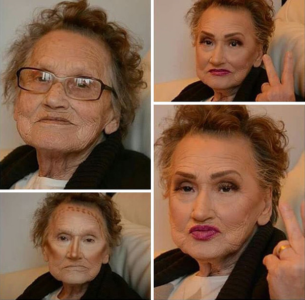 Макияж на дому для пожилых престарелых дом проституток
