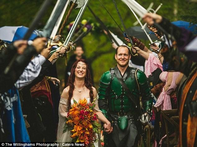 Властелин колец Свадебное оформление, жених и невеста, свадебная церемония, свадьба, тематическая