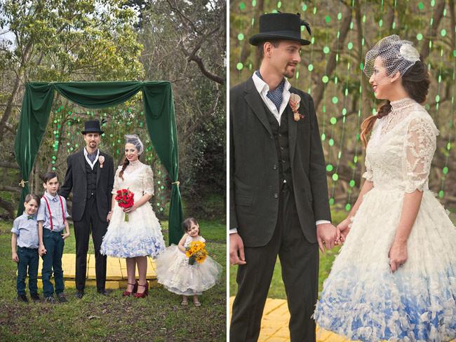 Волшебник страны Оз Свадебное оформление, жених и невеста, свадебная церемония, свадьба, тематическая