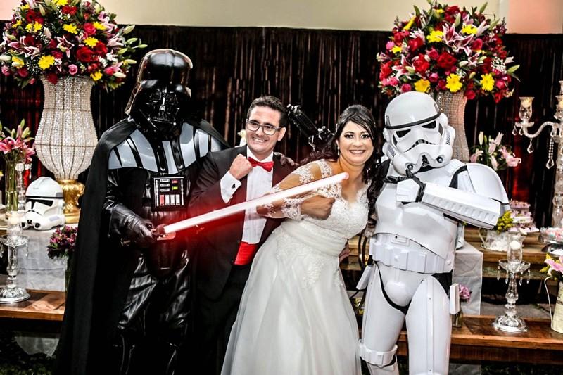 Звездные войны Свадебное оформление, жених и невеста, свадебная церемония, свадьба, тематическая