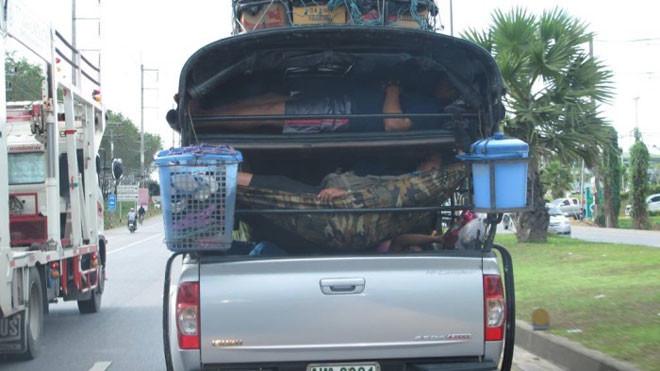 7. Настоящий дом на колёсах люди, таиланд, юмор
