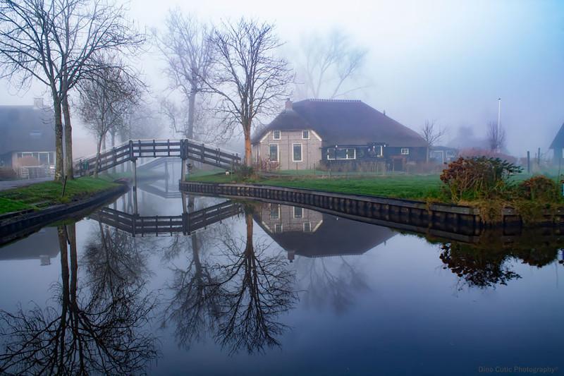 Поэтому в деревне сохраняется тишина и покой венеция, голландия, каналы, тишина, туризм