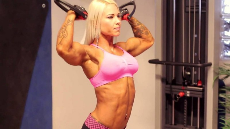 Пока она ь фото мускулистых женщин с большой грудью снять