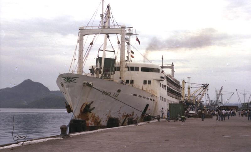 «Донья Пас», 25 декабря 1987 года. история, катастрофы, кораблекрушения, корабли, море