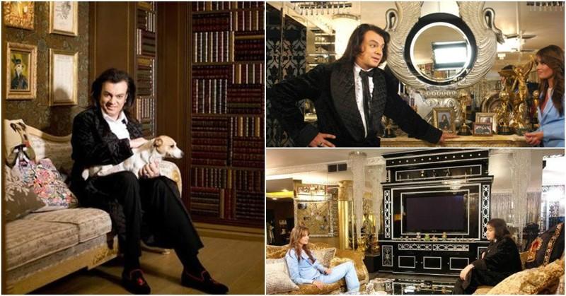 Королевская квартира Киркорова вкусы, вычурно, звезды, квартиры