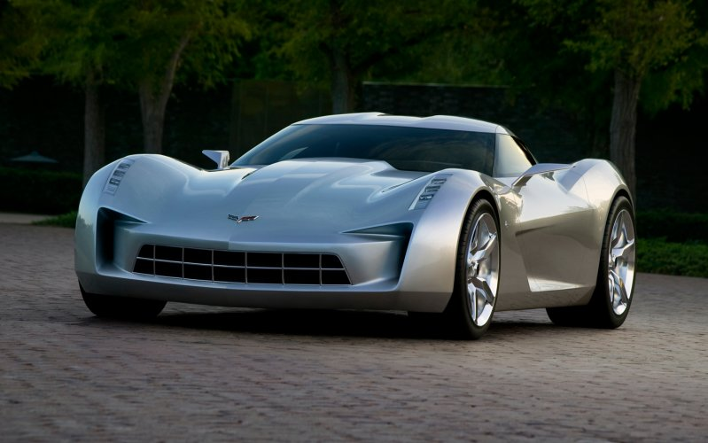 Chevrolet Corvette Stingray Concept: Stingray, chevrolet, corvette, копия, реплика