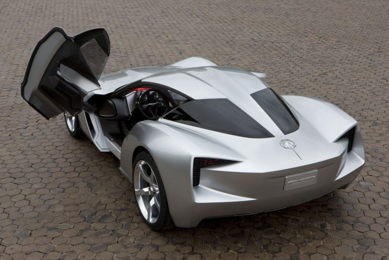 Реплика Chevrolet C7 Corvette Stingray, которая выглядит просто ужасно Stingray, chevrolet, corvette, копия, реплика