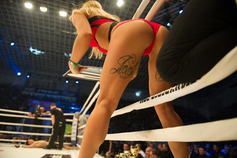 Saturday Boxing Ring Girls Naked And Oily En Fuego In Playboy Mexico