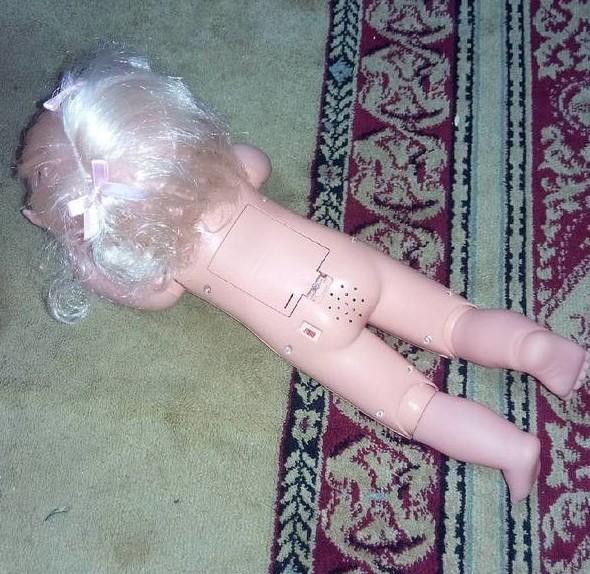 Звук этой куклы соответствует месту, в которое встроен динамик  китай, китайские товары, прикол, юмор