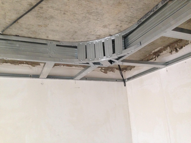 двухъярусные потолки из гипсокартона своими руками видео