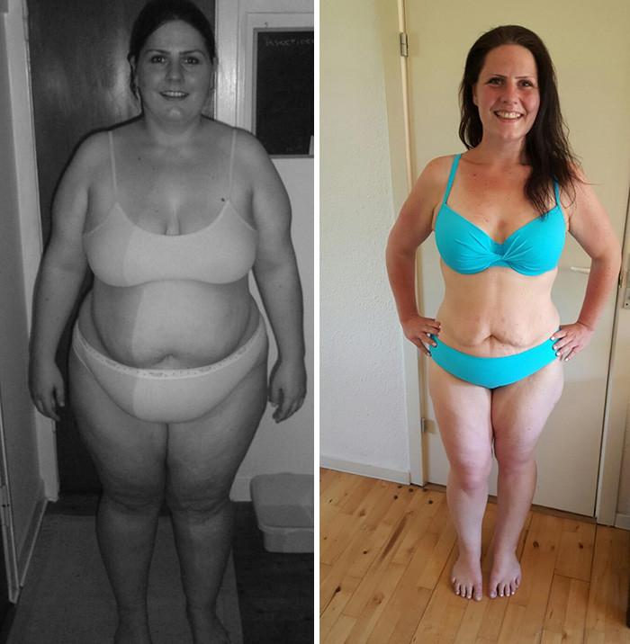 45. - 68 кг похудение, результат