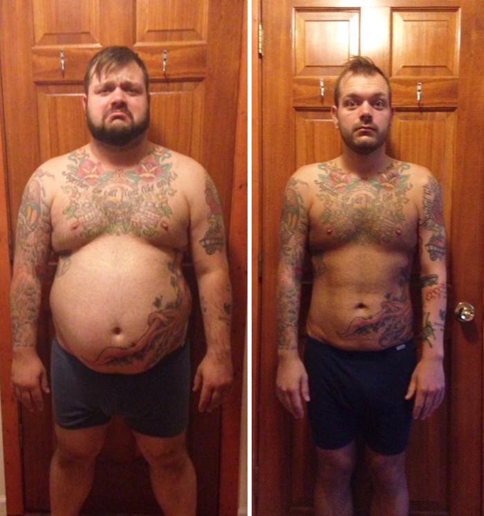 18. - 50 кг за год похудение, результат