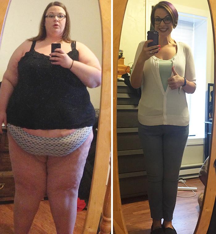 5. Из 208 кг в 82 кг за 2 года похудение, результат