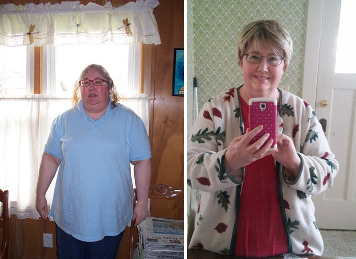 44. Из 121 кг в 96 кг за год похудение, результат