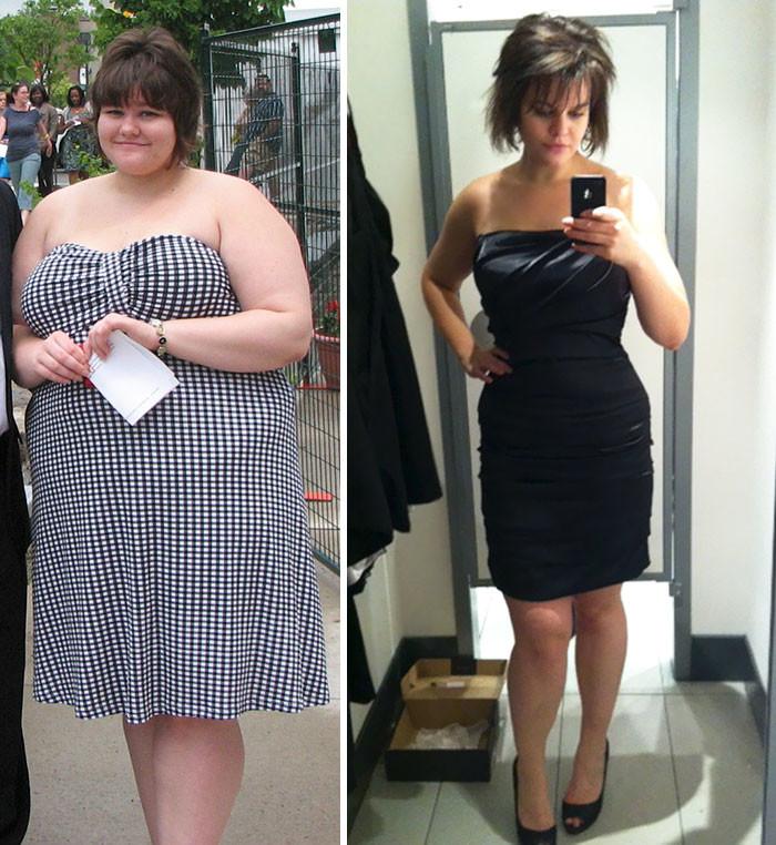 7. Июль 2010/Декабрь 2011 года. - 60 кг похудение, результат