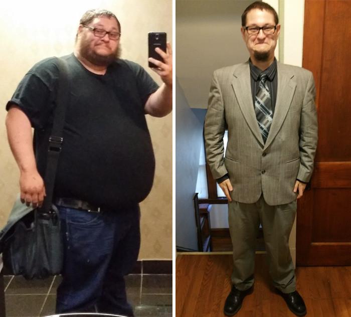8. - 90 кг за год (из 190 кг в 99 кг) похудение, результат