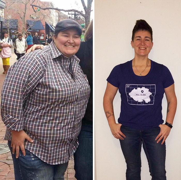 42. - 68 кг за 13 месяцев похудение, результат