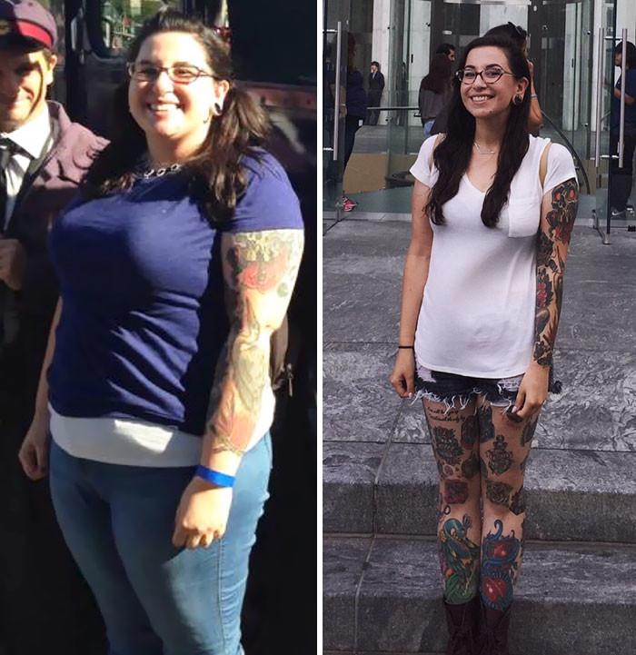 40. Из 112 кг в 65 кг за 10 месяцев похудение, результат