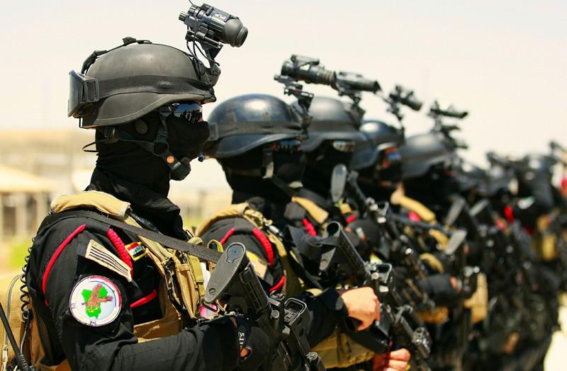 Силы специального реагирования Ирака. армия, будущее, солдаты