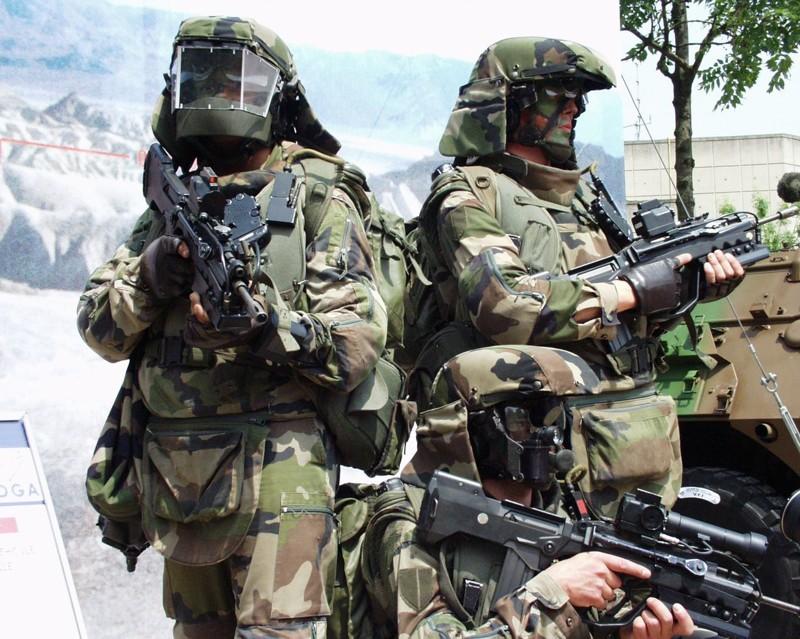 Французский прототип экипировки. армия, будущее, солдаты