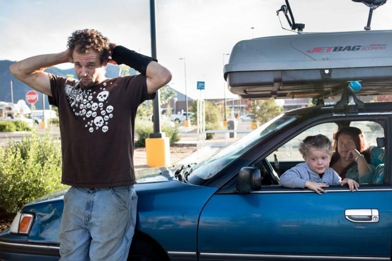 6. Американские бездомные  бездомный, жизнь, машина