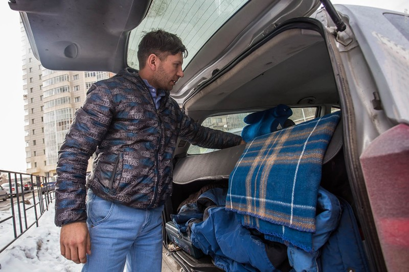 Реальные люди, которым пришлось жить в автомобилях  бездомный, жизнь, машина