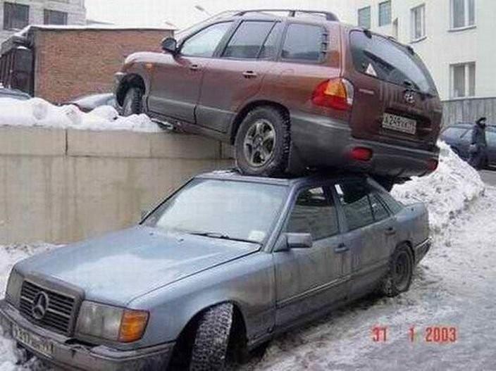 «Сдавать назад до характерного звука». аварии, автомобили, водители, прикол, юмор