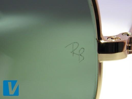 9b8d2df3a6d3 Гравировка логотипа оригинальных солнцезащитных очков Ray-Ban Ray Ban,  original, отличить, очки