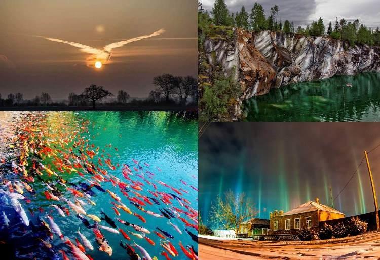 20 нереальных фотографий, над эффектностью которых потрудилась сама природа природа, фотографии
