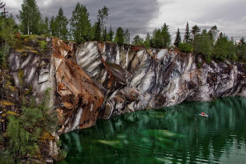 Цветные берега природа, фотографии