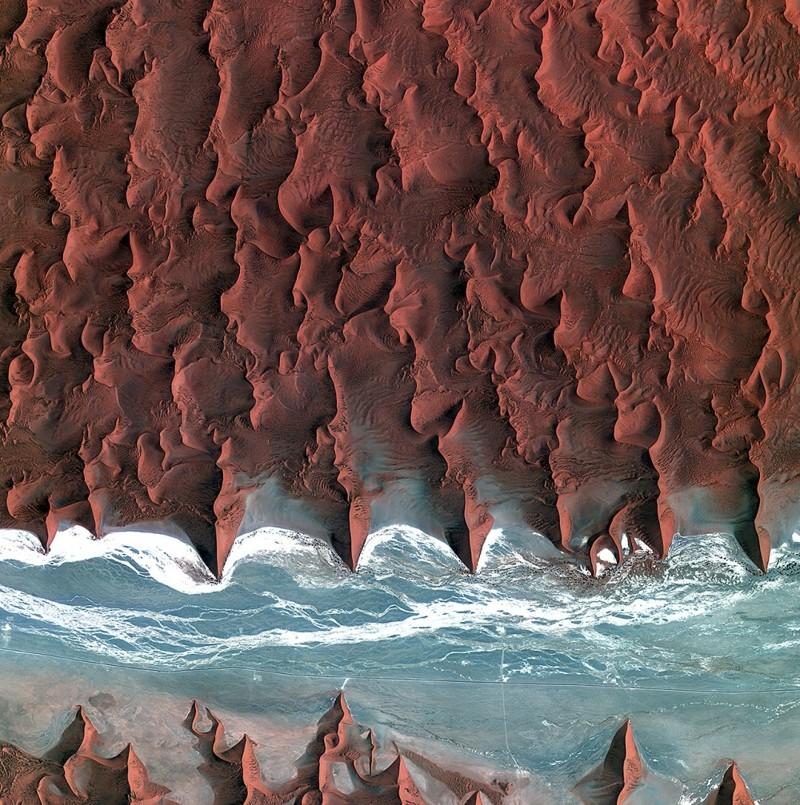Шоколадные берега природа, фотографии