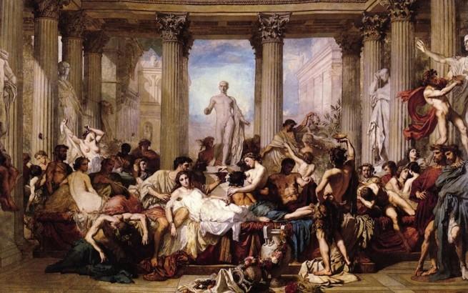 Секс в бревнпй греции