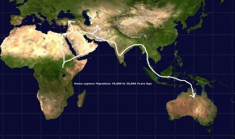 5. 50 000 лет назад люди переплыли Индийский океан история, первобытные люди, факты